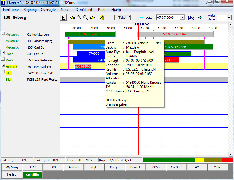 CarSoft Planner